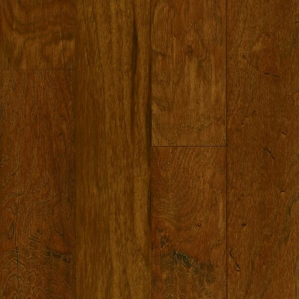 American Scrape 5 Engineered Hickory Hardwood Flooring in Autumn Blaze by Armstrong Flooring