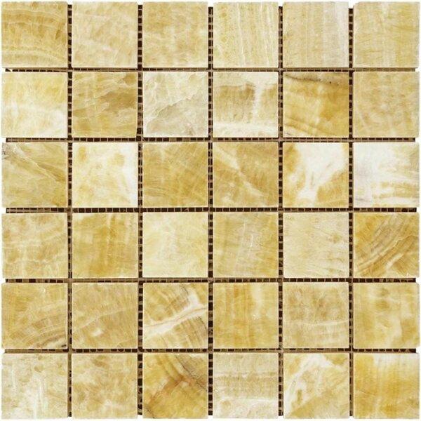 2 x 2 Marble Grid Mosaic Wall & Floor Tile