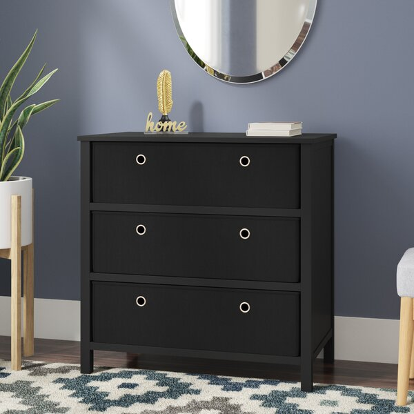 Aeliana 3 Drawers Single Dresser by Andover Mills