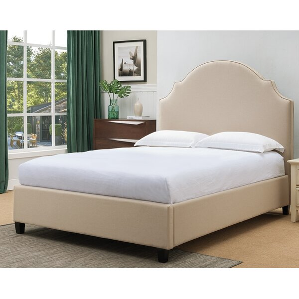 Eldorado Upholstered Panel Bed by Canora Grey