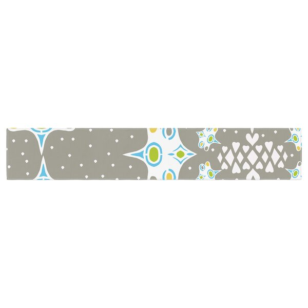 Miranda Mol Ornamental Splash Table Runner by East Urban Home