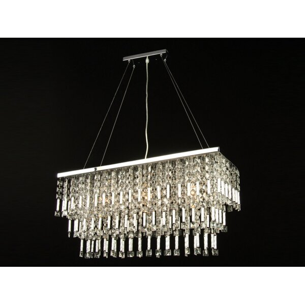 YS Series 6-Light Crystal Chandelier by Bethel International
