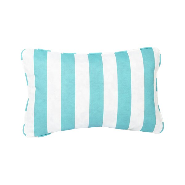 Stella Striped Indoor/Outdoor Lumbar Pillow (Set of 2) by Mozaic Company