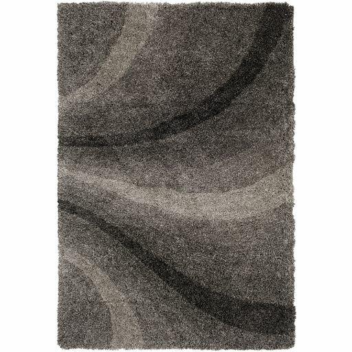 Annie Hand-Tufted Black/Ivory Area Rug by Orren Ellis