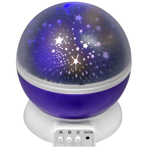 Romantic Cosmos Star and Sky Moon Night Light Projector by GGI International