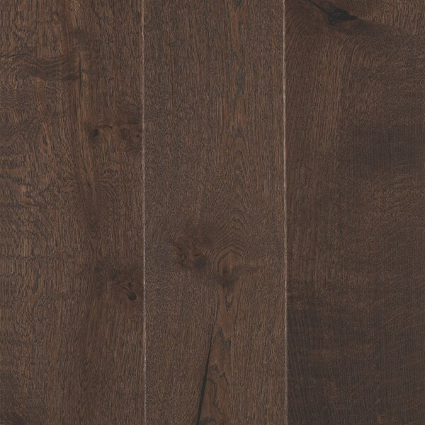 Arbordale Random Width Engineered Oak Hardwood Flooring in Barnwood by Mohawk Flooring