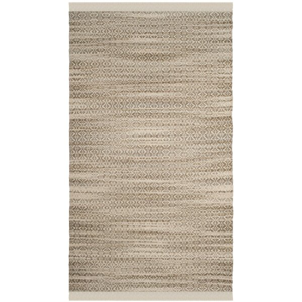 Redbrook Hand-Tufted Beige/Ivory Area Rug by Wrought Studio