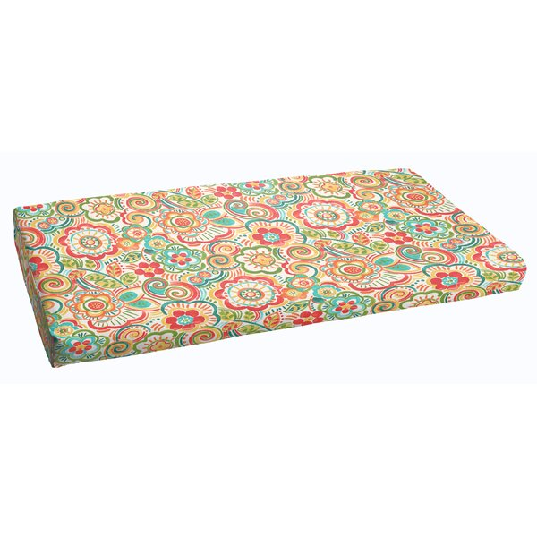 Annette Indoor/Outdoor Bench Cushion by Latitude Run
