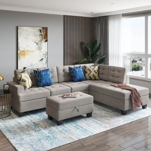 Egecan 3 Piece Living Room Set by Latitude Run®