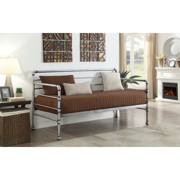 Scroggins Transitional Metal Twin Daybed by Williston Forge