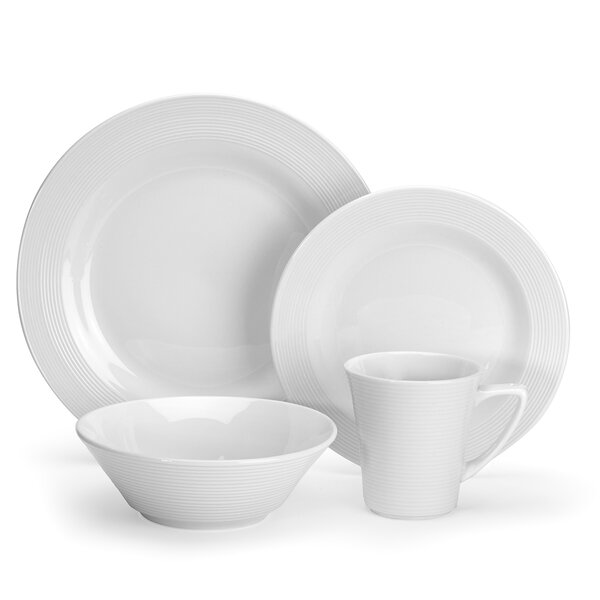 Marne 16 Piece Dinnerware Set, Service for 4 by Cuisinart