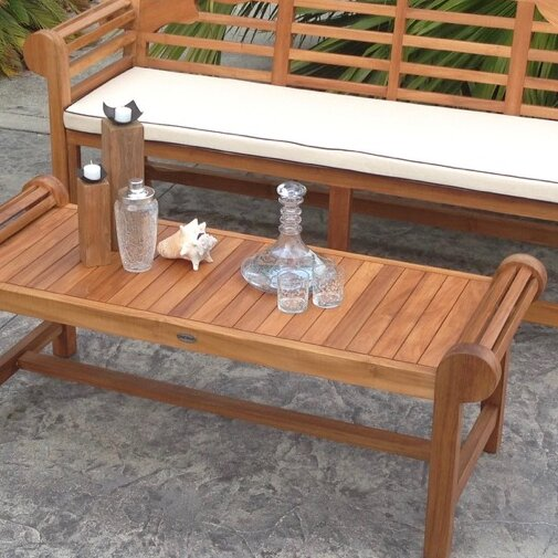 Solid Wood Coffee Table by Chic Teak