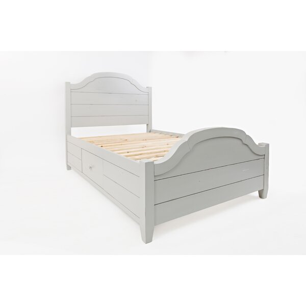 Ginns Solid Wood Storage Platform Bed by August Grove