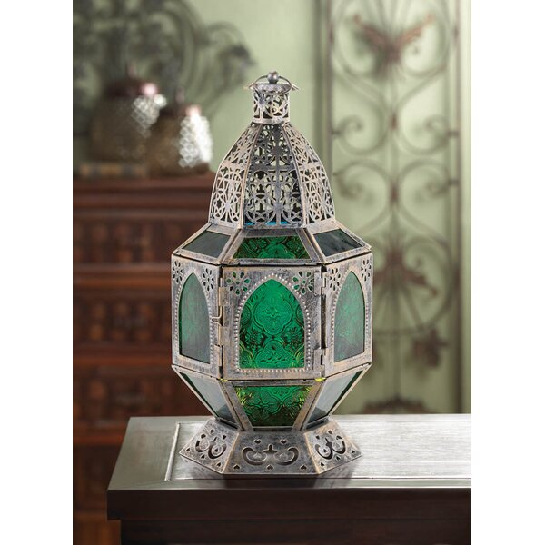Iron and Glass Lantern by Zingz & Thingz