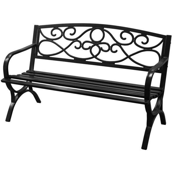 Coronado Steel Garden Bench by Charlton Home