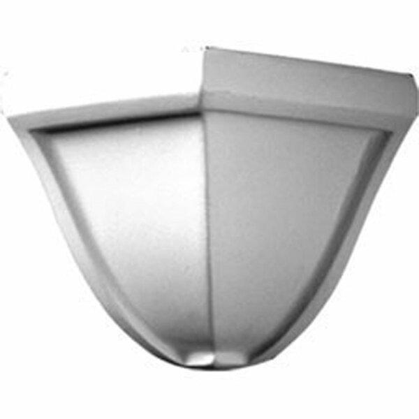 Bedford 3H x 3D Outside Corner for Moulding Profiles by Ekena Millwork