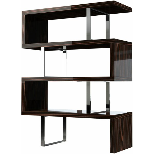 Review Clancy Geometric Bookcase