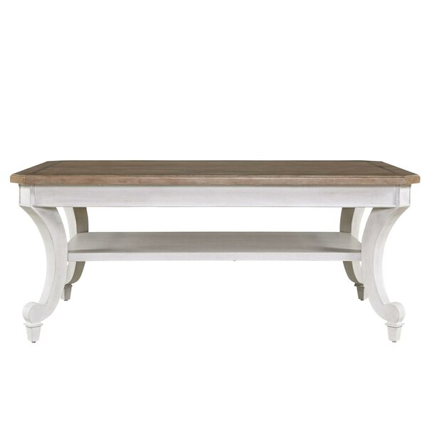 Keller Coffee Table by Rosecliff Heights