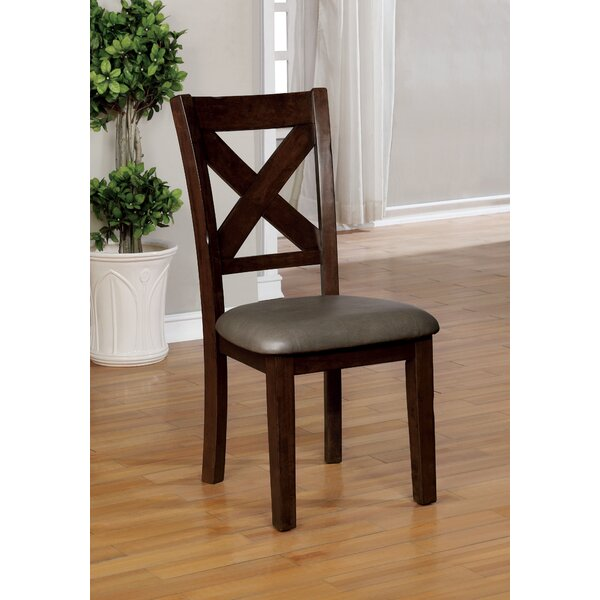 Genebern Upholstered Dining Chair (Set of 2) by Loon Peak