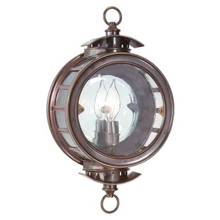 Savings Huffman Outdoor Flush Mount By Longshore Tides