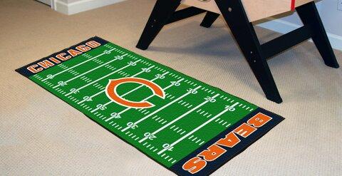 NFL - Chicago Bears Football Field Runner by FANMATS