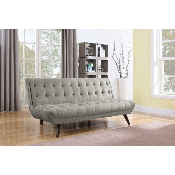 Best Savings For Chevalier Twin Tufted Back Convertible Sofa by Corrigan Studio by Corrigan Studio