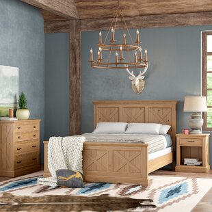 Burbury Country Lodge Wood Panel 3 Piece Bedroom Set By Loon Peak