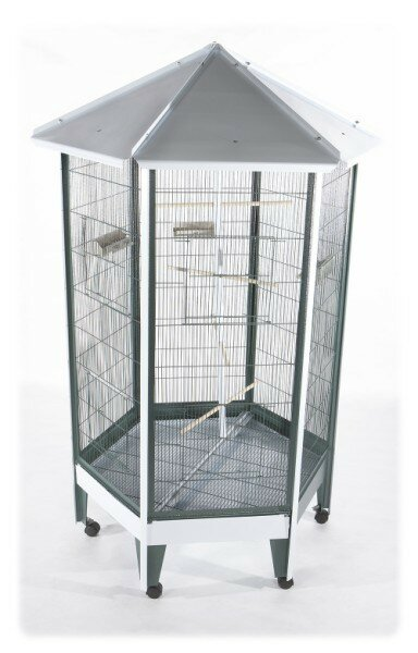 Mcginty Large Hexagonal Bird Aviary by Tucker Murphy Pet