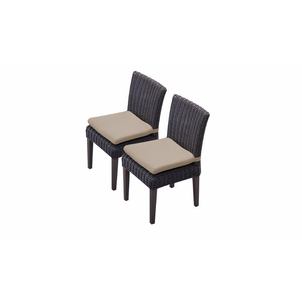 Fairfield Patio Dining Chair with Cushion (Set of 2) by Sol 72 Outdoor