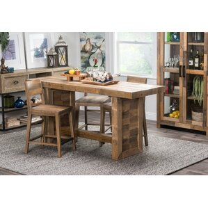 Needham Counter Height Dining Table by Loon Peak Onsale