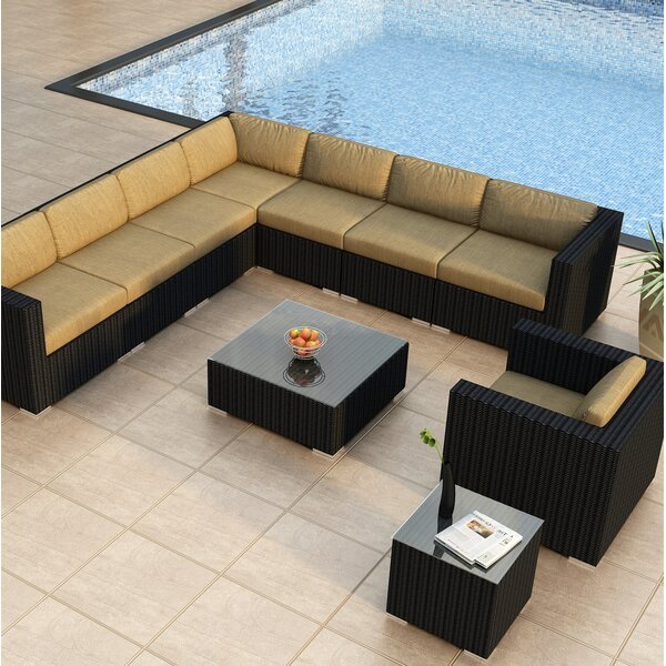 Azariah 10 Piece Sectional Set with Cushions by Orren Ellis