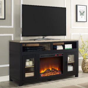 Callowhill 54 TV Stand with Fireplace by Mercury Row