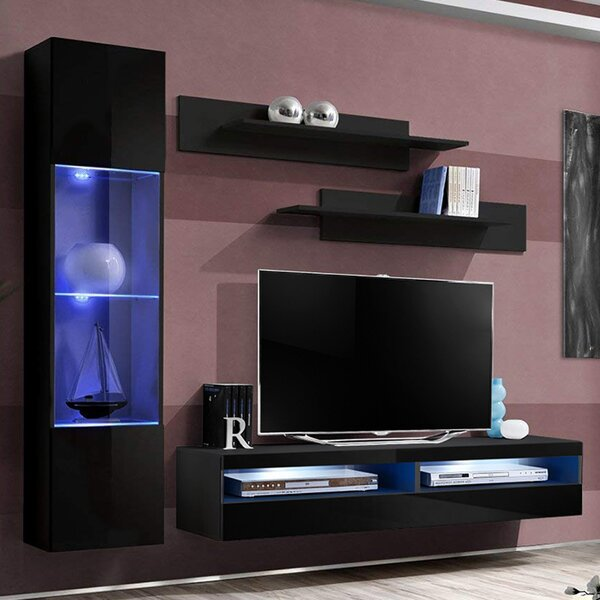 Lovelace Floating Entertainment Center For TVs Up To 70