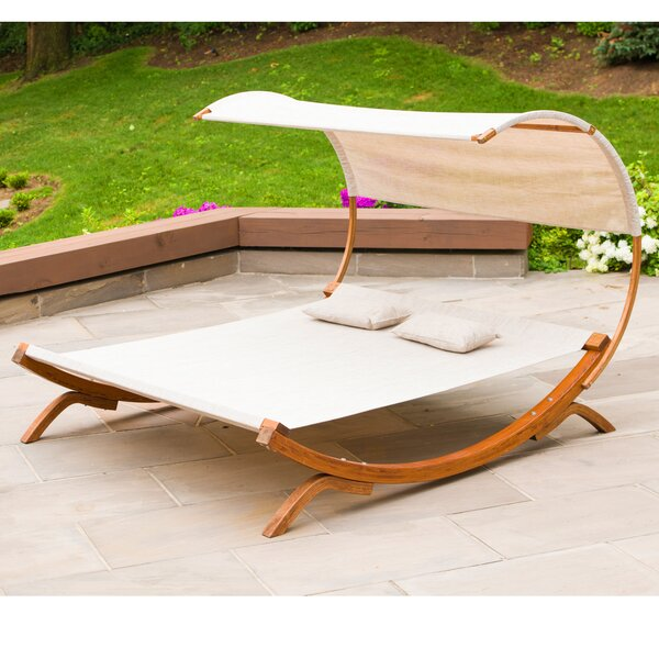 Sunbed with Canopy by Leisure Season