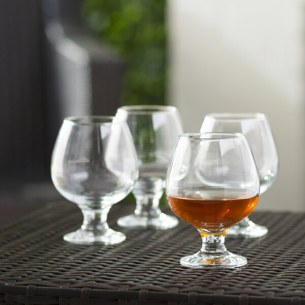 Wharton 13.25 oz. Brandy Glass (Set of 4) by Three Posts