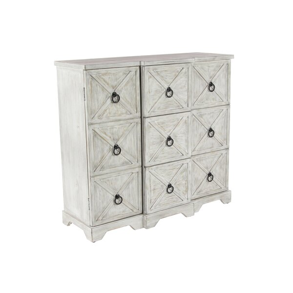 Tyndall 3 Door Accent Cabinet by Rosecliff Heights