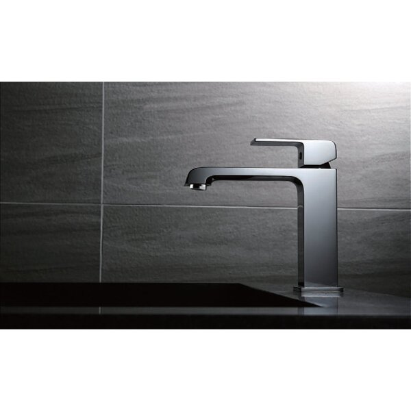 Single Hole Bathroom Faucet with Drain Assembly by UCore