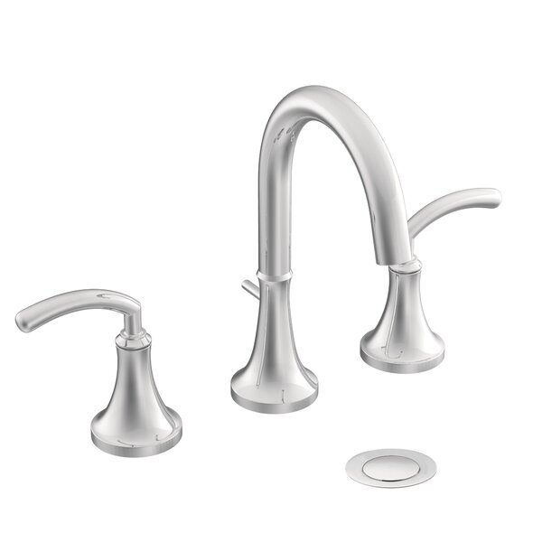 Icon Widespread Bathroom Faucet with Drain Assembly