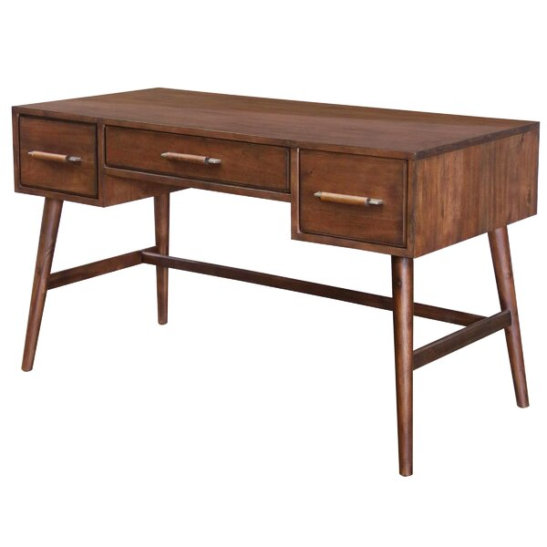 Salvador 3 Drawer Writing Desk by Corrigan Studio