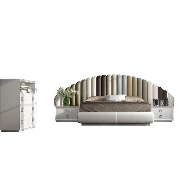 Jerri Standard 4 Piece Bedroom Set by Everly Quinn