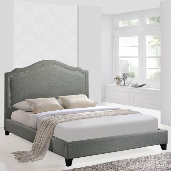 Queen Upholstered Platform Bed by Modway