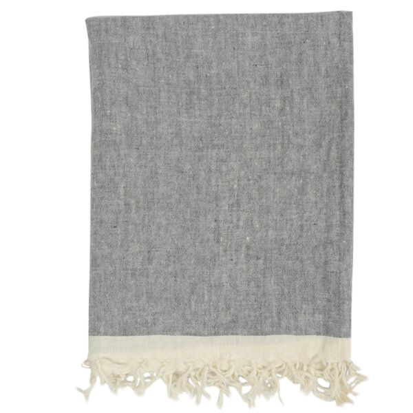 Ducale Chambray Solid Throw by Gracie Oaks
