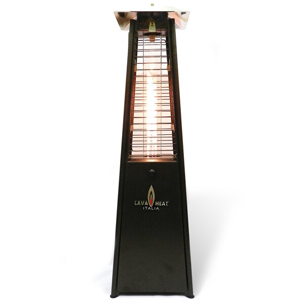 Flame 11,000 BTU Propane Tabletop Patio Heater by
