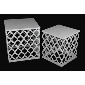 2 Piece Nesting Table Set by Privilege