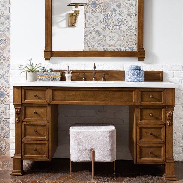Bedrock 60 Single Country Oak Bathroom Vanity Set by Darby Home Co