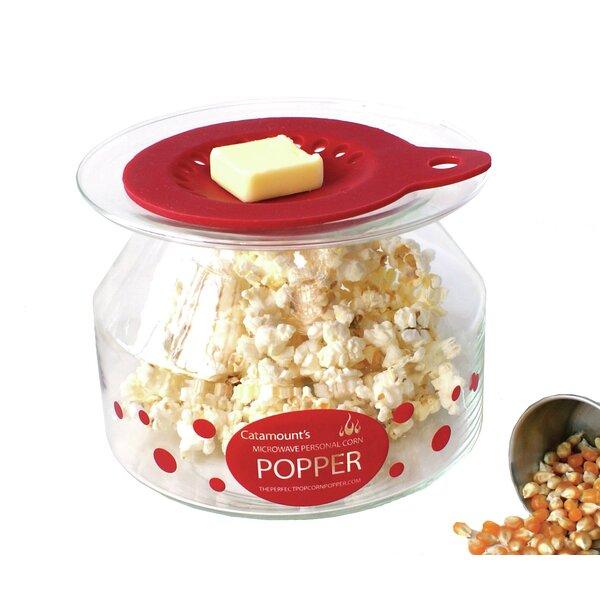 32 Oz. Personal Microwave Popcorn Popper by Catamount Glass