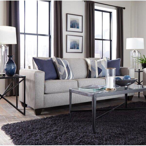 Best Design Berens Slate Sofa by Charlton Home by Charlton Home