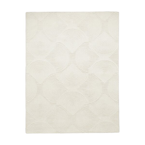 Arches Hand-Tufted Wool Ivory Area Rug by Global Views