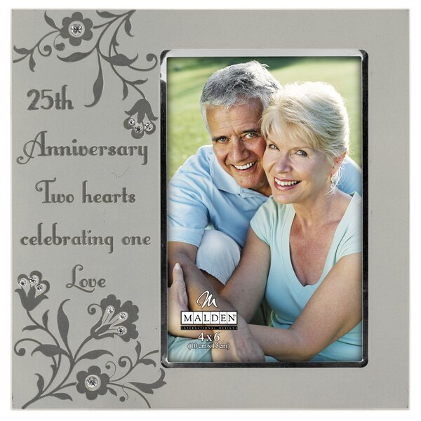 25th Anniversary Picture Frame by Malden