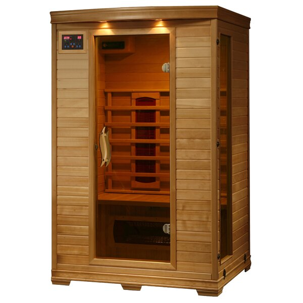 Madrid 2 Person FAR Infrared Sauna by Radiant Saunas